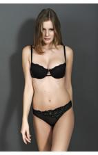 Calvin Klein Black Expansion Thong black - F3543E-001
