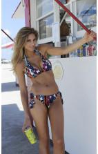 Damen Bademode - Gideon Oberson Urban Fusion Bikini Triangel Bikini in Ethno Print  – 303-4233 / 303-5006
